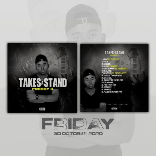 Freddy K presents 'Takes A Stand' Artwork & Tracklist